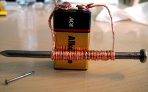 how to make a strong electromagnet at home
