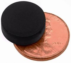 "1/2"" x 1/8"" Disc - Rubber Coated - Neodymium Magnet"