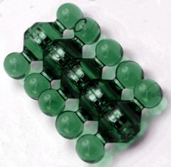 Magnet Pins - Jewel - Medium - Green - Neodymium