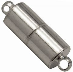 Cylinder Shaped - Magnetic Jewelry Clasps - Silver - Neodymium Magnet