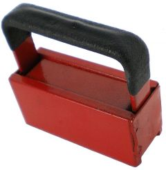 20 lb Handheld Magnet With Rubber Coated Handle