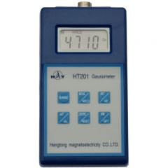 HT Digital Gaussmeter with PEAK HOLD - Can Display Gauss or Tesl