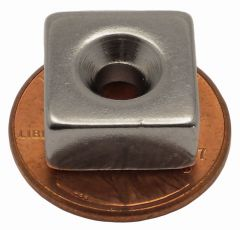"1/2"" x 1/2"" x 1/4"" Countersunk block"