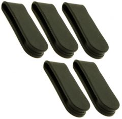Bendable Silicone Magnetic Clips - Black - Neodymium Magnets