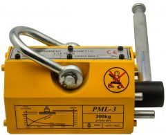 Magnetic Lifter 300kg / 660lb  - Crane/Hoist Lifting Magnet