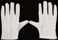 12 pair Cotton Inspection Gloves