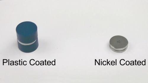 Plastic and Metal Neodymium Magnet Coatings Compared
