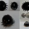 Easy DIY Halloween Fridge Magnets: Rock Monsters
