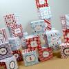 DIY Magnetic Christmas Advent Calendar