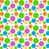 DIY Magnetic Polka Dot Pattern