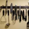 DIY Magnetic Knife Holder