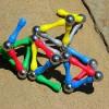 DIY Magnetic Building Sticks