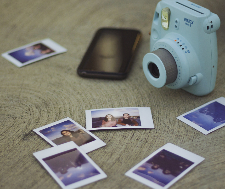 DIY Polaroid Magnets