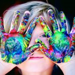 Merging Magnetism and Art: At-Home Paint Activity