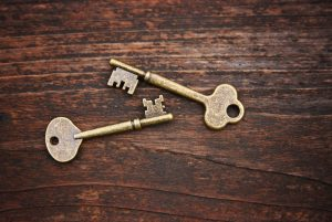 DIY Magnetic Key Hooks Using Self Adhesive Magnets