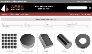 A Guide to Apex Magnets' Website