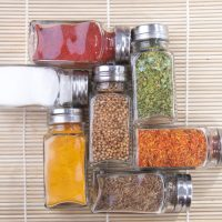 How To Make A Magnetic Spice Rack