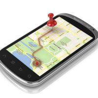 Magnetic Suction Cup Simplifies Smartphone GPS